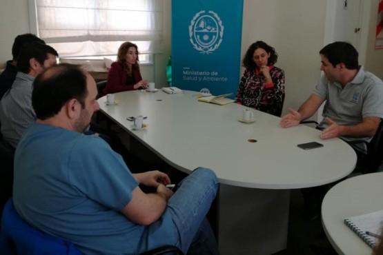 La ministra de Salud se reunió con la Asociación y Federación de Anestesistas