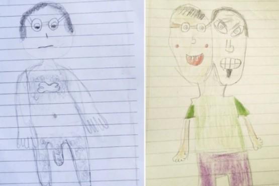 Tres chicas que fueron abusadas por sus padres muestran los