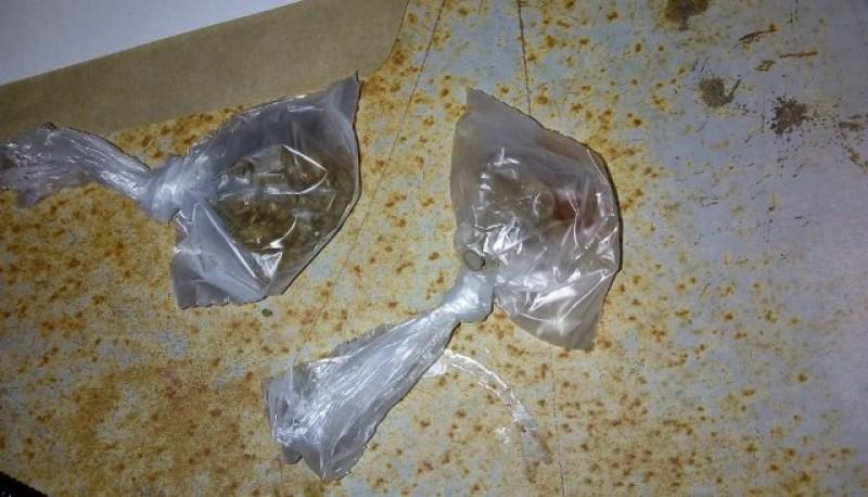 Sustancia que fue secuestrada por el personal policial.