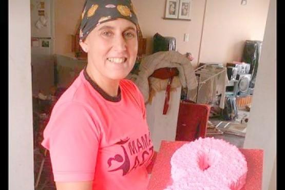 Lety Muñiz es muy reconocida y querida en Río Gallegos.