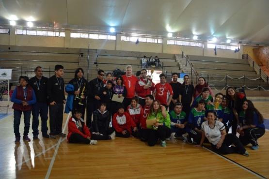 Los Búhos segundos en el Torneo Patagónico de Goalball