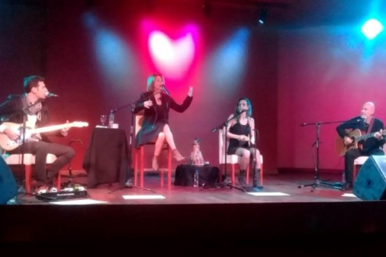 Marcela Morelo hizo cantar y bailar a El Calafate