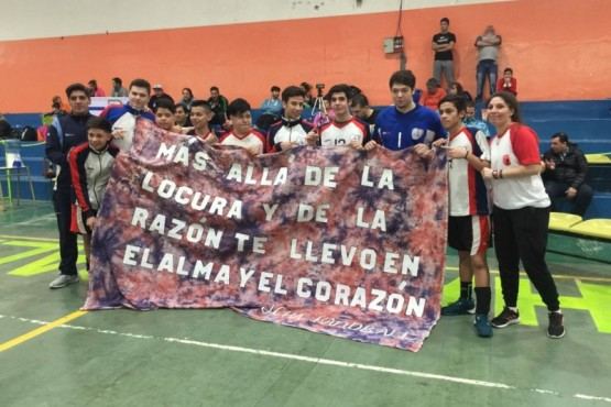 Campeones del Torneo Regional de Handball
