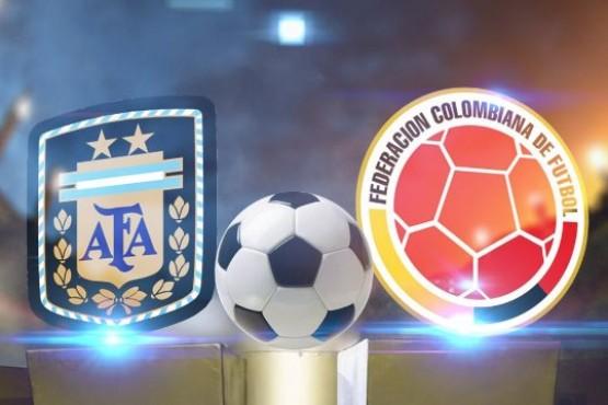 Argentina vs Colombia: formaciones, horario y TV