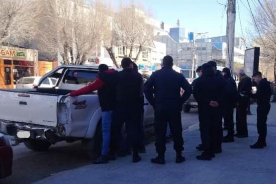Hombre detenido en pleno centro por amenaza con arma de fuego