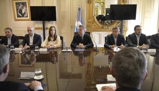 Mauricio Macri logró apoyo de los gobernadores para el Presupuesto