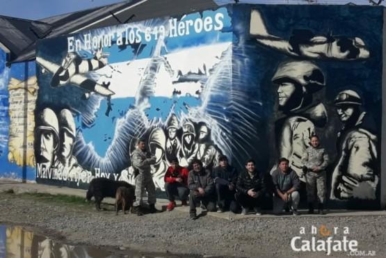 Finalizado mural que pintaron reclusos