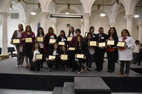 Docente de Santa Cruz recibió el premio Maestra Ilustre 2018