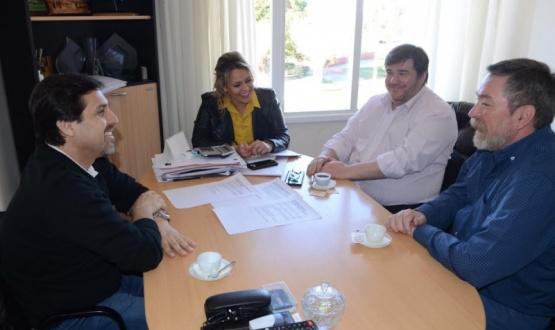 González se reunió con el decano de la UTN.