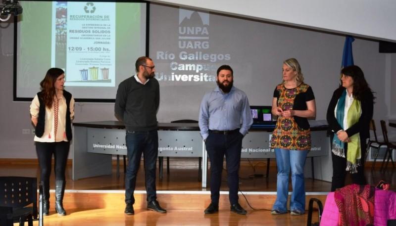 Charla de Gestión Integral de Residuos Sólidos Universitarios (C.R)