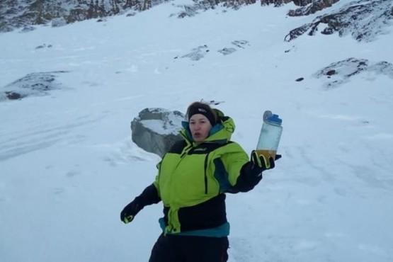 Encontraron sin vida a una mujer que había caído en una grieta del Glaciar Alvear
