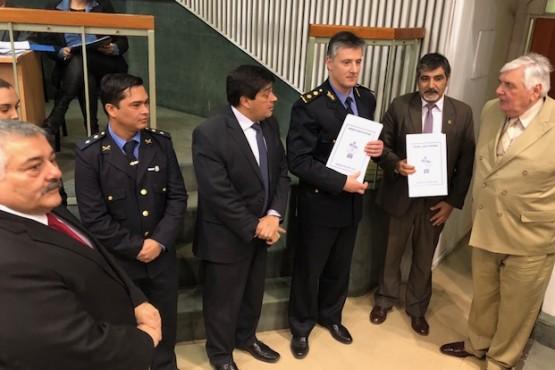 Felicitaron a policías de las Comisarías 4ta, 6ta y Comando Radioeléctrico