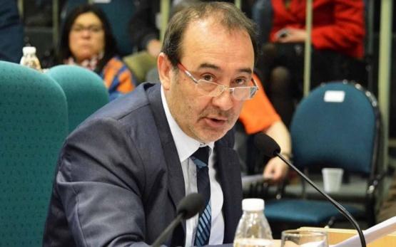 Oscar Lemes, diputado por Pto. Santa Cruz.