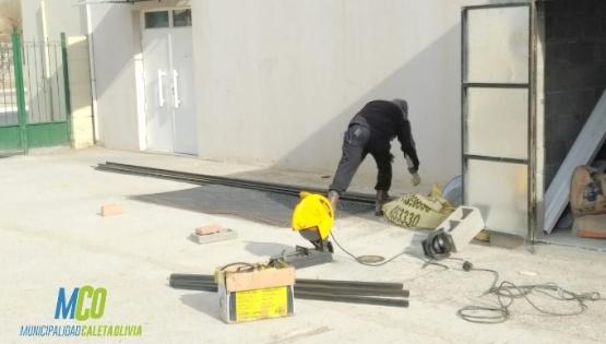 Continúan con los trabajos en la vecinal del barrio 26 de Junio