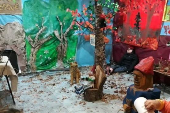 Presentan un Mini Rio Turbio en ExpoArte