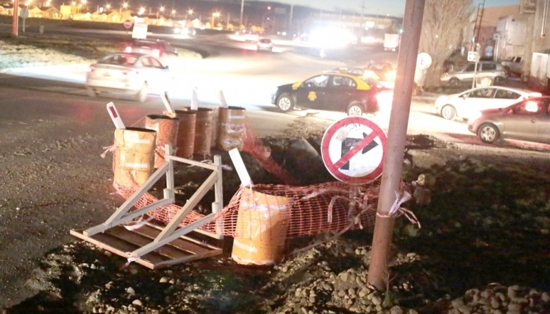 La obra del Sarmiento ya llegó a la zona de la autovía 17 de Octubre.