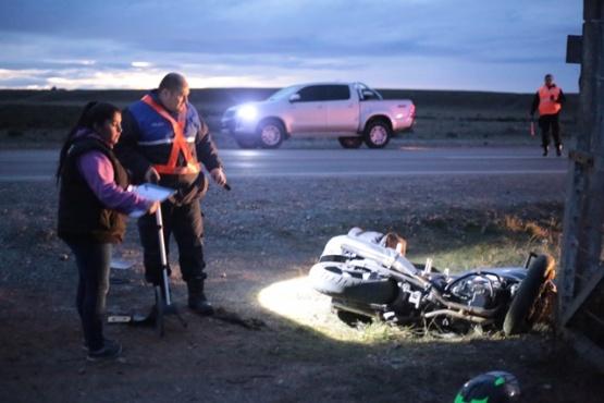 Momentos después del accidente. (C.G)