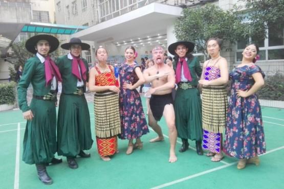 El ballet Quienenquen muestra su arte en China