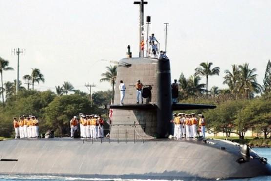 Japón envió un submarino a un arrecife ocupado por China y reclamado por Filipinas