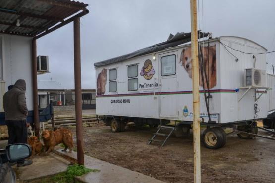 Quirófano móvil estará hasta el viernes en el barrio Ayres Argentinos