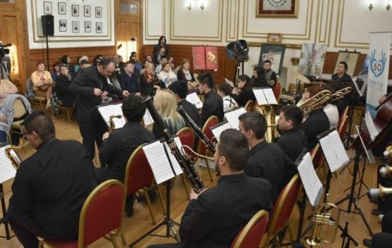 El Salón Blanco vibró con las Big Band Jazz