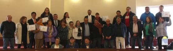 Jubilados fueron homenajeados en el Concejo Deliberante