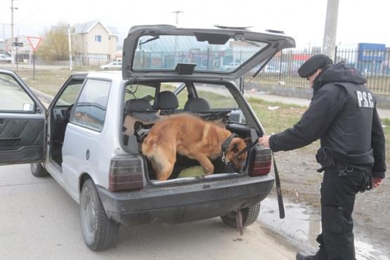 Controles vehiculares en búsqueda del prófugo.