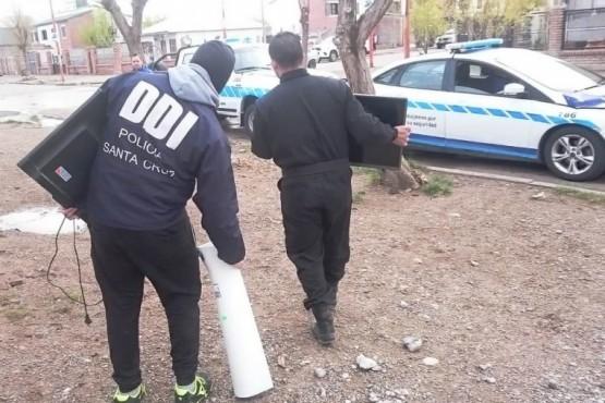 Hallaron cocaína cuando allanaban casa por causa de amenazas