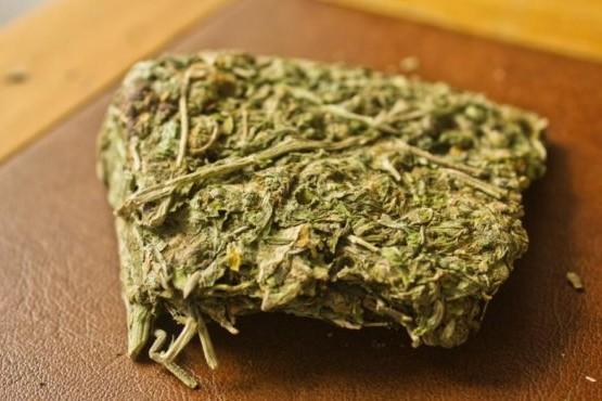 Lo detuvieron cuando retiraba encomienda de un kilo de marihuana
