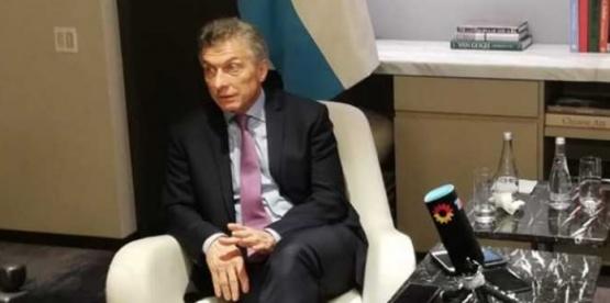 Mauricio Macri felicitó a los argentinos que fueron a trabajar