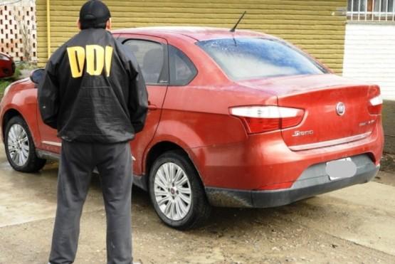 El rodado fue secuestrado por la DDI de Las Heras.