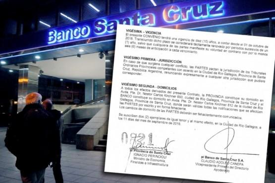 La firma del convenio fue suscripta por el ministro Ignacio Perincioli.