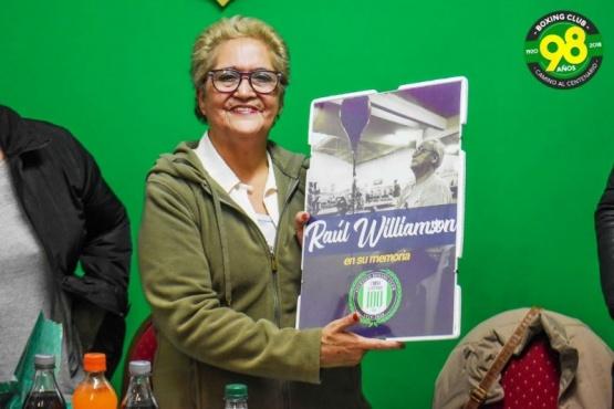 Reconocimiento y homenaje a Raúl Williamson