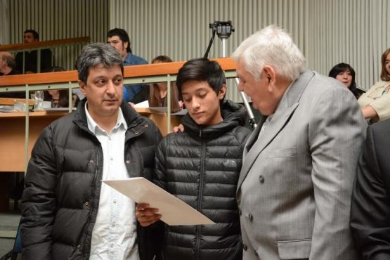 Diputados destacaron al competidor mundialista Ángel Ledesma