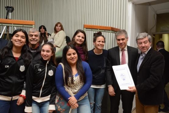 Reconocieron la tarea del Club Social y Deportivo El Chaltén