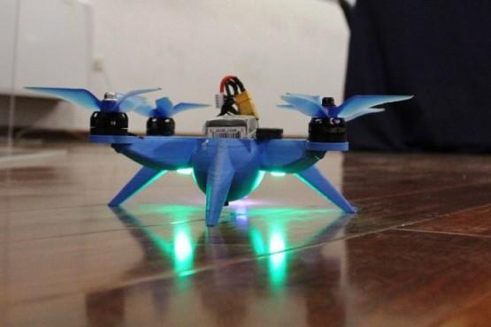 El primer vuelo del drone