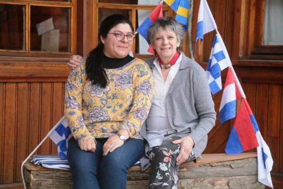 Natalia Ledesma y Susana Suárez en Fundacruz (C.G)