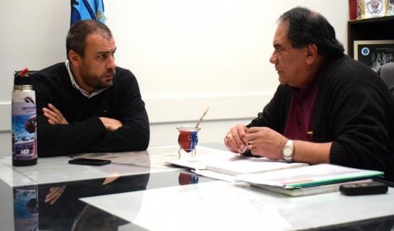 Prades reunido con el referente de SOEMCO.