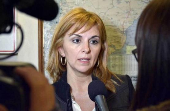 Silvina Córdoba, Sec. de Comercio.