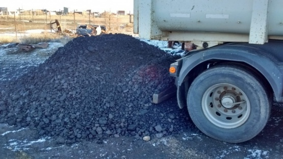 Normalizan la entrega de carbón a familias