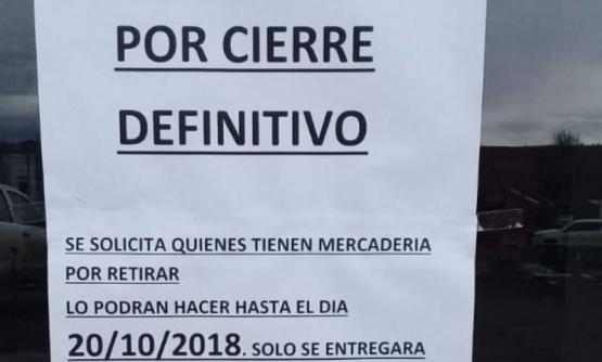 Aclaran que el cierre de comercio de construcción es de 28 de noviembre