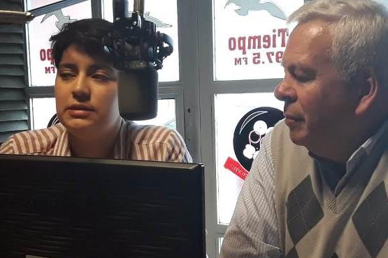 Foto en Tiempo FM