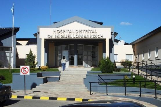 Madre e hijo fueron asistidos en el nosocomio de Puerto San Julián