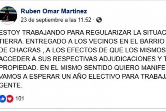 Tras las denuncias de abuso sexual, Martínez no volvió al Deliberante