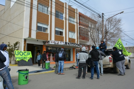 Nuevo reclamo en la UTE Represas Patagonia