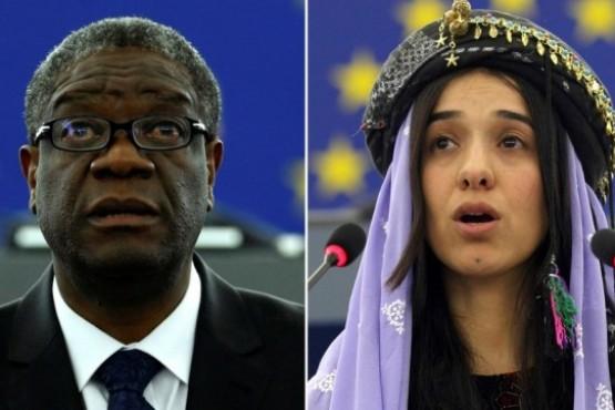 El Nobel de la Paz, para dos impulsores de la lucha contra la violencia sexual en las guerras