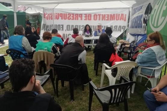 CONADU Histórica ratificó el rechazo al Presupuesto 2019
