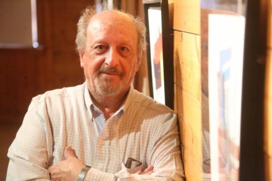 Scannapieco trabaja desde los años '60 en la técnica del grabado experimental. (C.G.).