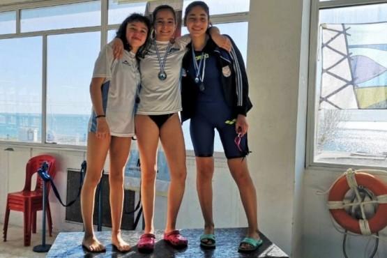 Nadadores con pasaje a Mar del Plata