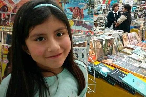 Lucía Burgos Valdez, la niña más lectora de la Provincia de Santa Cruz.